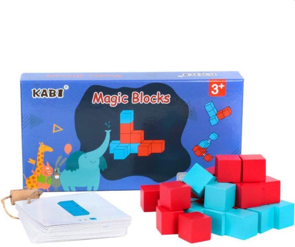 知育玩具木製パルズ積木想像力算数親子ブラック立方体30個
