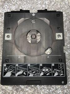 送料込 EPSON CDトレイ ディスクレーベル印刷 EP-806AB エプソン CDトレー 中古純正