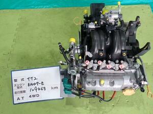 サンバー EBD-TT2 フロストホワイト 59M エンジンASSY 10100KM070 16920572