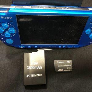 Sony psp3000 本体 バッテリー メモリーカード