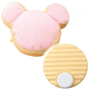 新品 みんなのキャラクターシェイプゆたんぽ ピンク 防寒対策グッズ ミッキー ディズニー 湯たんぽ カバー付 防寒 冷え性