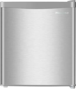 冷蔵庫 ミニ冷蔵庫 小型冷蔵庫 ミニ 小型 右 省スペース設計 一人暮らし セカンド冷蔵庫 キッチン 寝室 リビング 42リットル シルバー
