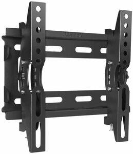 14インチ~ テレビ壁掛け金具 壁掛け 金具 小型 LED テレビ TV 液晶テレビ 左右上下角度調整可能 VESA規格 20×20cmまで ブラック