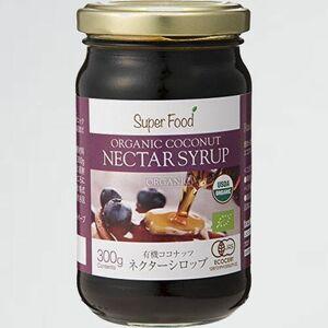 好評 新品 ココナッツ JAS有機認定オ-ガニック D-RT Nectar Syrup) ネクタ- シロップ 300g (USDA EURO Certified Organic Coconut