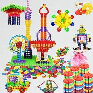 新品 目玉 約700ピ-ス Tebrcon P-3Z 立体 パズル おもちゃ ブロック 子供 積み木 知育玩具 セット 男の子 女の子 はめ込み