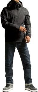 マック レインジャケット as-910 ブラック Lサイズ レインコート 防水