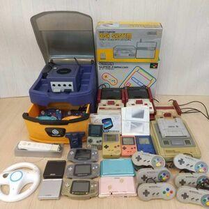 N710-U13-904 NINTENDO 任天堂 ゲーム機 まとめ売り ファミコン スーパーファミコン ゲームボーイ アドバンス SP DS ゲームキューブ ⑦