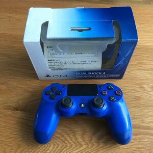 PS4 ワイヤレスコントローラー (DUALSHOCK 4) ブルー  CUH-ZCT1J