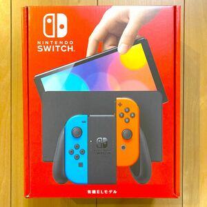 Nintendo Switch 本体 有機ELモデル ネオンブルー ネオンレッド【新品未開封・店舗印無し】