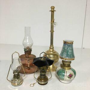 A40mi odour ru Ran plan p light lantern hanging alcohol antique Showa Retro spirit lamp 6 point set