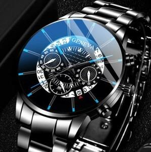 R073 レロジオmasculino 2021メンズファッションビジネス腕時計カレンダー時計男性のステンレス鋼クォーツ時計montreオム