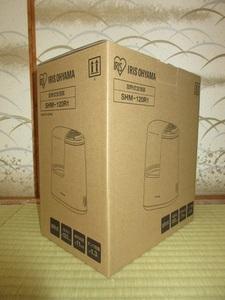 未使用品 長期保管品 加熱式加湿器 SHM-120R1 ホワイト アイリスオーヤマ 元箱入り 取扱説明書付属