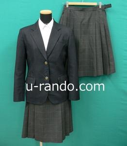 コスプレ衣装 #9702 香芝・黒系ブレザー制服冬夏セット