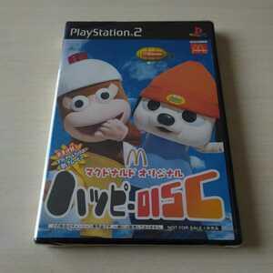 PS2 ソフト 新品未開封品 未使用 マクドナルドオリジナル ハッピーディスク 送料無料★