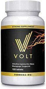 白 VOLT 亜鉛 シトルリン アルギニン マカ 120粒 栄養機能食品
