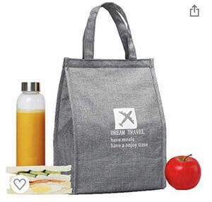 保温 バッグ 断熱バッグ 再利用可能ランチバッグ 防水ランチトートバッグ