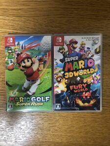 マリオゴルフスーパーラッシュ  スーパーマリオ3Dワールド セット