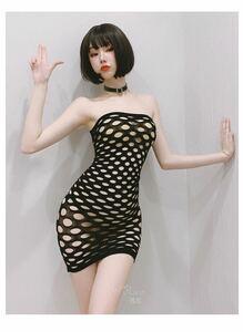 セクシーランジェリー 全身タイツ ボディストッキング コスプレ衣装 透かし彫り