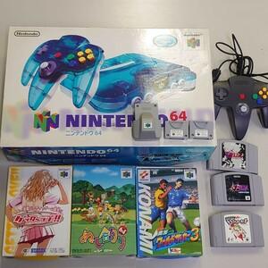 ゲーム機セット ニンテンドー64 プレイステーション2 プレミアソフト ゲッターラブ他 動作確認済み