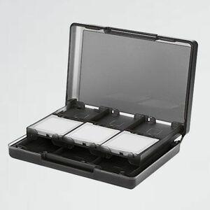 好評 新品 Nintendo3DS ベ-シック 2-M3 8×13×3cm ブラック ゲ-ムカ-ド収納ケ-スホルダ- 24カ-トリッジスロット