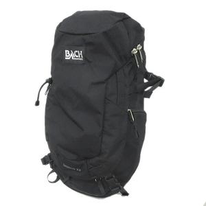 美品 バッハ BACH バックパック SHIELD 22 リュックサック バッグ 鞄 登山バッグ アウトドア ロゴ 黒 ブラック メンズ レディース※