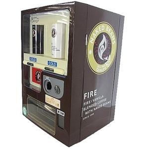 セブンイレブン限定 自販機タイプ ミニ 冷蔵庫 KIRIN FIRE タイプ ポータブル 現状品 簡易動作確認済 当時物 ■