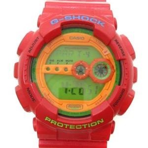 カシオジーショック CASIO G-SHOCK ハイパー カラーズ Hyper Colors デジタル 腕時計 ショックレジスト 赤 レッド GD-100HC /ST メンズ