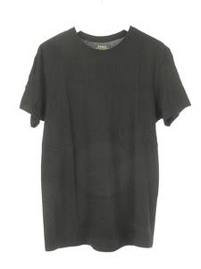 ポロ ラルフローレン POLO RALPH LAUREN 半袖 カットソー ワンポイント Tシャツ トップス M 黒 ブラック メンズ