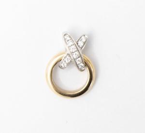 ショーメ CHAUMET リアン・ドゥ・ショーメ プルミエリアン ダイヤモンド ペンダントトップ ネックレス 750 ゴールド/ホワイトゴールド