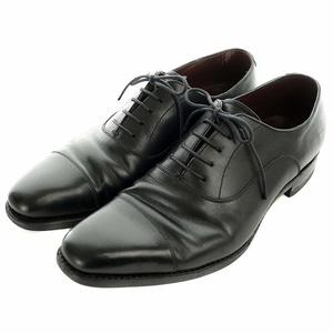 ユニオンインペリアル Union Imperial ビジネスシューズ フォーマル ストレートチップ 革靴 レザー 7.5 26cm 黒 ブラック U1994 メンズ