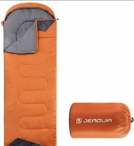 封筒型寝袋 軽量 保温 防水 登山 車中泊 キャンプ 1.35kg