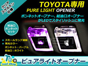 LED ...  ARAI  ...   топливо & капот 2 шт  набор   Noah  NOAH 80     Белый  x  фиолетовый   сеть  задний  Скелет
