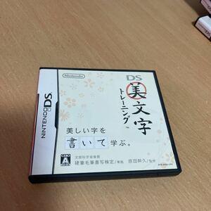 DSソフト ニンテンドーDS DS美文字トレーニング