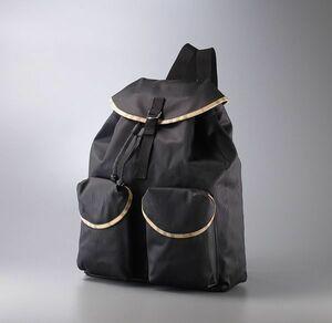 MD0112○バーバリー フレグランス/Burberry FRAGRANCE*PVC*ノバチェック柄*リュックサック*バックパック*鞄*ブラック