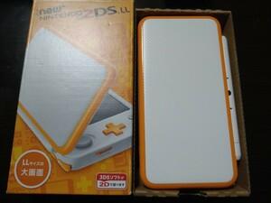 Newニンテンドー 2DS LL ホワイト オレンジ