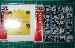 THE BEATLES/ FROM THEN TO YOU (1CD)+CHRISTMAS ALBUM (1CD)セット