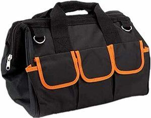 新品 幅35cm ツールバッグ 工具バッグ 工具差し入れ 幅35cm 道具袋 大口収納 手提げ 作業用 持ちやすい ZQ1P