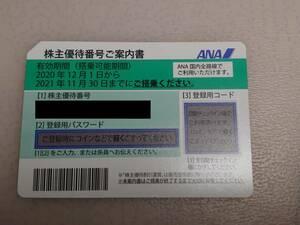 【新品・未使用品】ANA(全日空) 株主優待券