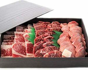 3種の部位盛り 焼肉セット800g【牛タン200g カルビ300g ハラミ300g】/焼き肉 やきにく バーベキュー 化粧箱入り