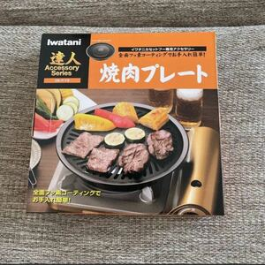 Iwatani 焼肉プレート CB-P-Y2 カセットコンロ イワタニカセットフー 焼き肉 達人