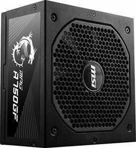 【期間限定】MSI MPG A750GF PC電源ユニット 750W 80PLUS Gold PS1026MXDF