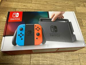 Nintendo Switch本体 ネオンレッド ネオンブルー 初期型 未対策機