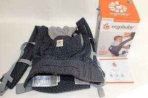 エルゴベビー ORIGINAL STARRY SKY 抱っこ紐 ベビーキャリア ergobaby プレミアムコットン オリジナル おんぶ 乳児 出産準備 2110-029