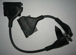 ATA33用スマートケーブル(2ドライブ用/黒)/45cm (PN-ATA33-45BK)