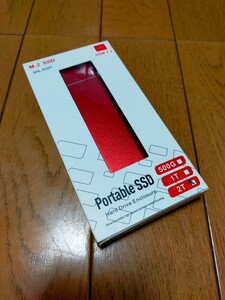 外付け ポータブル SSD 2TB USB3.1 Type-C SHL-R320