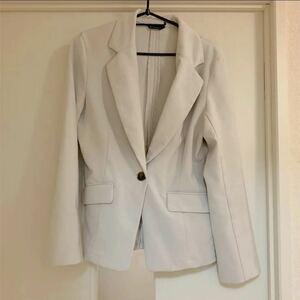 テーラードジャケット ベージュ スーツジャケット Mサイズ