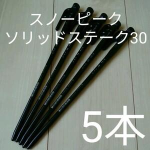 【新品・未使用】スノーピーク ソリッドステーク30 5本セット