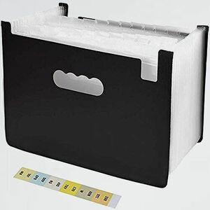 新品 目玉 ファイルボックス ドキュメントスタンドA4 2-GS 整理 自立型… 25ポケット 書類ケ-ス 収納ボックス