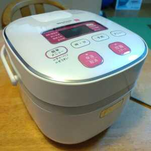 送料無料 マイコン炊飯器 シャープ KS-H5E9-KP 2012年製 3合炊き 美品 炊飯ジャー SHARP