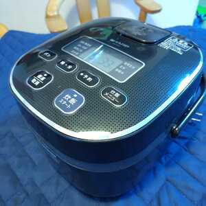 送料無料 マイコン炊飯器 SHARP KS-C5F-B 2012年製 3合炊き シャープ ジャー